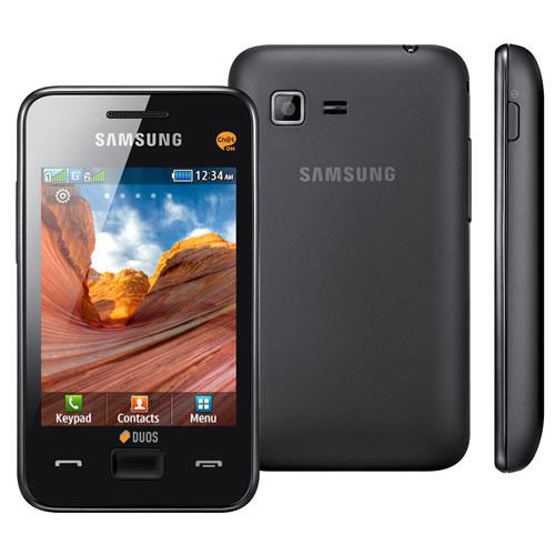 Celular Desbloqueado Samsung Star III Duos Preto com Dual Chip