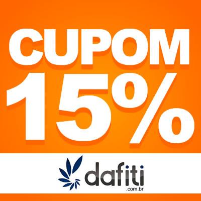 Cupom de desconto de 15% Dafiti