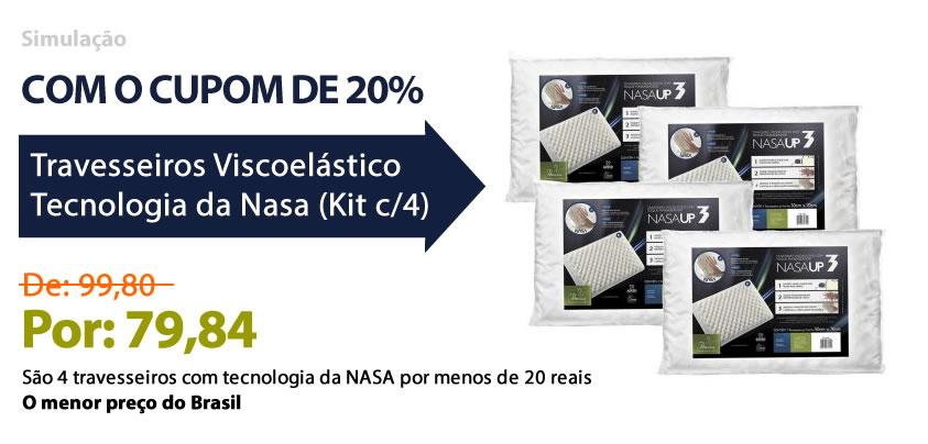 Cupom de desconto Ecolchão 20%