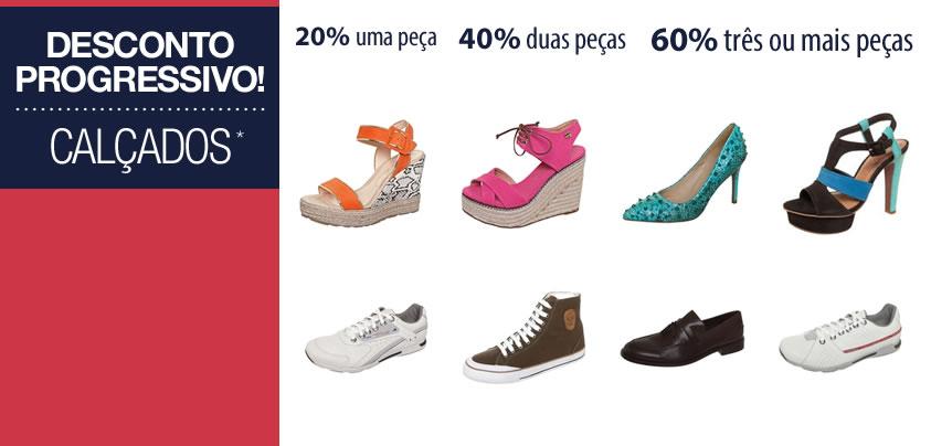 Desconto progressivo Dafiti calçados