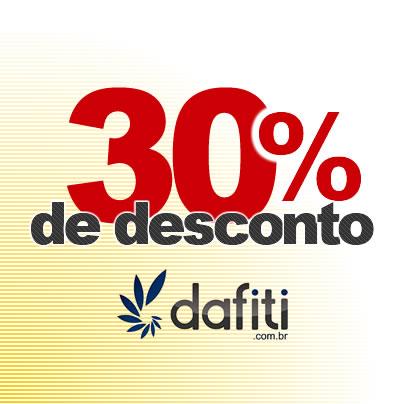 Cupom de desconto de 30% da Dafiti vale para várias marcas