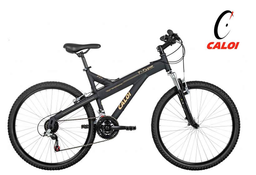 Bicicleta Caloi T-Type - Aro 26 com 17% de desconto na Netshoes