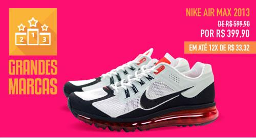 Nike Air Max 2013 com 200 reais de desconto