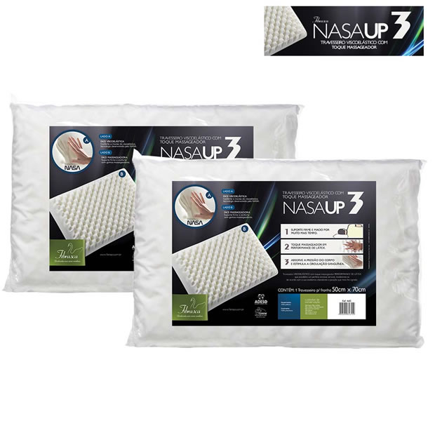 Ponto Frio: Travesseiro Nasa com mais de 50% de desconto
