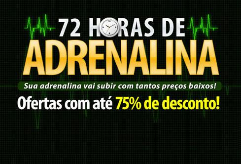 Centauro: 72 horas de Adrenalina com até 75% de desconto