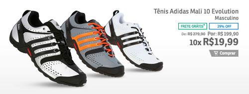 Tênis Adidas Mali com 29% de desconto na Centauro