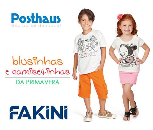 Posthaus: Blusinhas e camisetinhas infantis a apartir de R$ 21,90