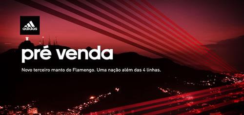 Camisa Adidas Flamengo – III – s/nº – 2013/2014 – Masculina