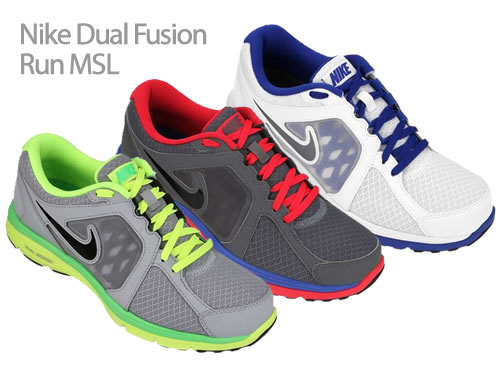 Netshoes  Tênis Nike Dual Fusion Run MSL com 24% de desconto 0fe351dab0d02