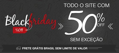 Black Friday da Cipela tem 50% de desconto em tudo, sem exceção!