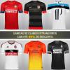 Camisas de clubes estrangeiros com até 50% de desconto na Netshoes