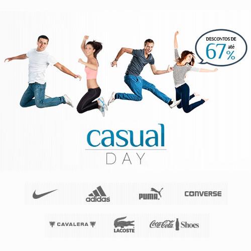 Centauro: Casual Day com descontos de até 67% em grandes marcas