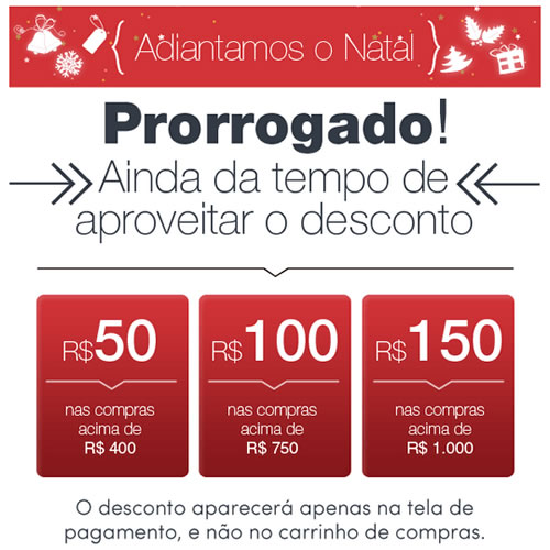 Descontos progressivos de até R$ 150 no Ecolchao