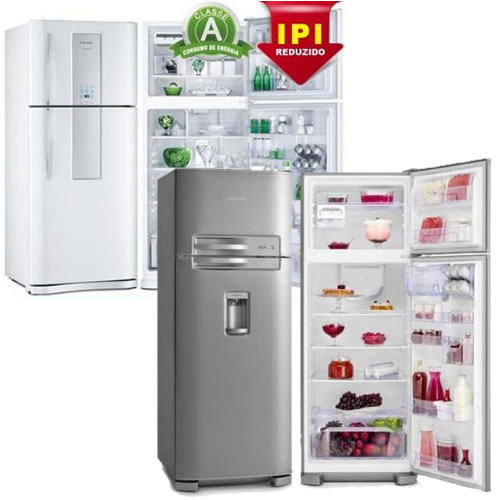 Queda de preços em geladeiras no site Ricardo Eletro