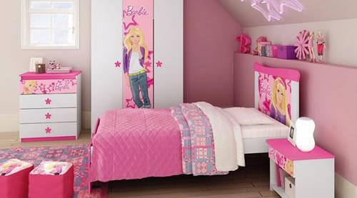 Mobly: Quartos infantis completos da Barbie, Ben 10, Princesas...