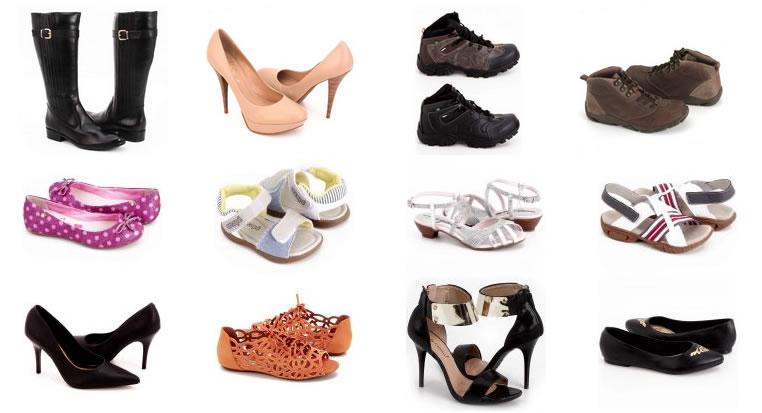 Ricardo Eletro: Toda seção de calçados com 30% de desconto