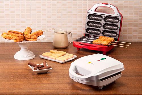 Máquina de crepe suíço Fun Kitchen por R$ 79 no Shoptime