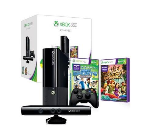 Xbox 360 + Kinect + 2 super jogos + Controle sem fio por R$ 999 no Clube do Ricardo