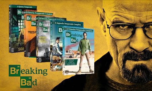 Breaking Bad: a Série Completa - 1ª a 5ª Temporada no Ponto Frio