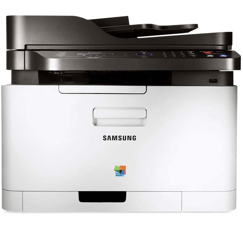 Multifuncional Laser Colorida Samsung CLX-3305FW Wireless - Impressora, Copiadora, Scanner e Fax