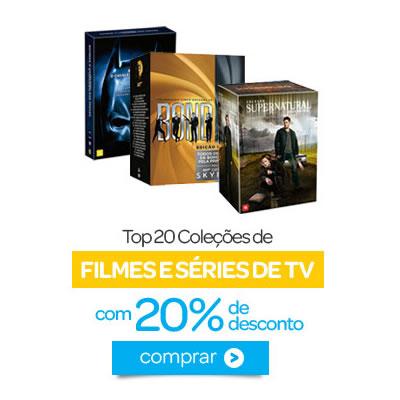 20 coleções de filmes e séries com 20% de desconto no Submarino