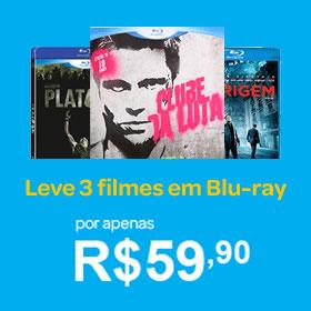 Leve 3 filmes em blu-ray por apenas R$ 59,90 no Submarino