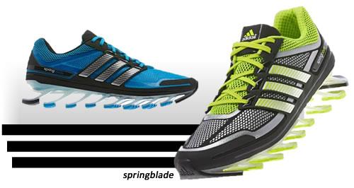 Adidas Springblade com cupom de 10% na Kanui