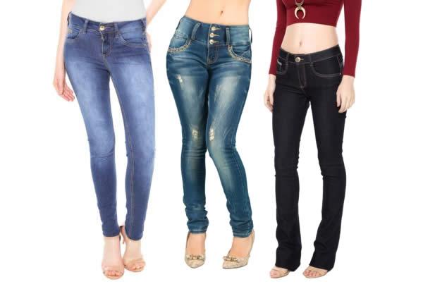 Calças jeans c/até 50% de desconto na Dafiti