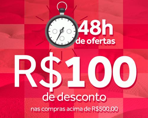 Cupom de desconto de R$ 100 na Ecolchao