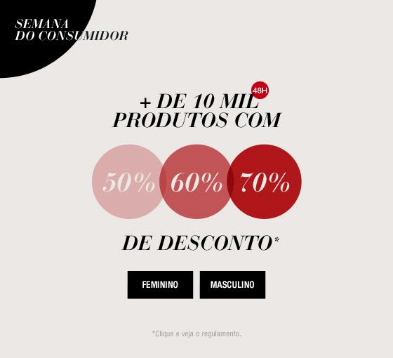 Dia do Consumidor: Produtos com até 70% off + cupons na Dafiti