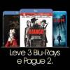 Leve 3 Blu-rays e pague 2 na Saraiva