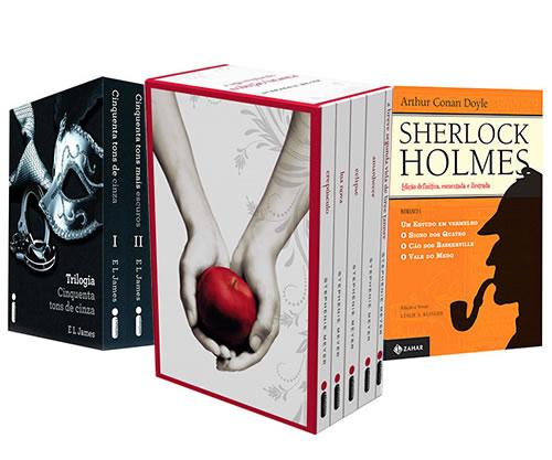 Americanas: Boxes e coleções de livros com 50% de desconto