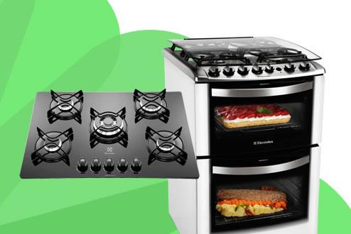 Fogões e cooktops com 10% de desconto no Walmart