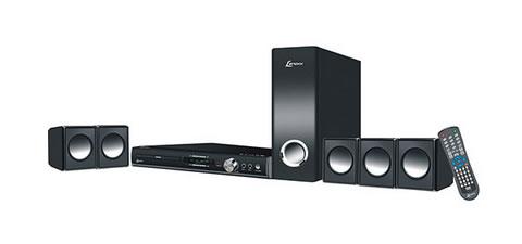 Home Theater DVD Player Lenoxx HT723 270W com Rádio FM USB Função Karaokê