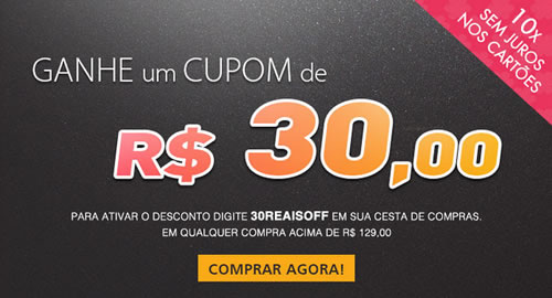Cupom de desconto de R$ 30 na Época Cosméticos