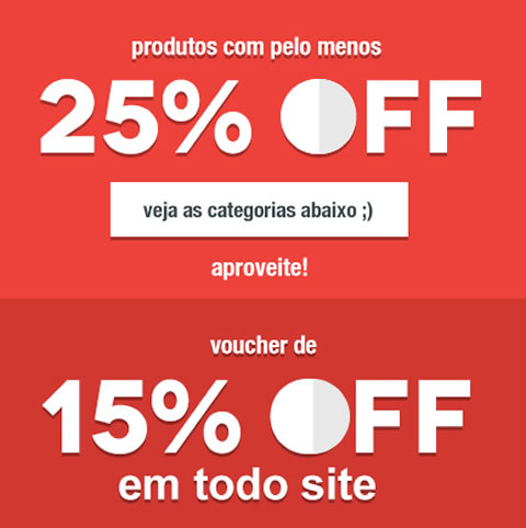 Cupom de 15% + seleção de produtos com 25% OFF na Mobly
