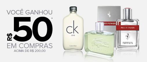 Cupom de desconto de R$ 50 em perfumes na Dafiti Sports