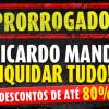 Liquidação de até 80% no Ricardo Eletro