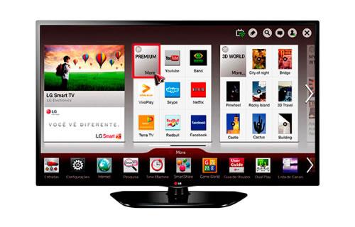 """Smart TV LED 39"""" LG 39LN5700 por R$ 1.099 no boleto no Submarino"""