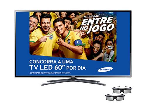 """Smart TV 3D Samsung 40"""" 40F6400 + 2 Óculos 3D com 12% de desconto no boleto no Submarino"""