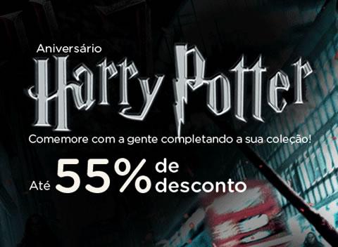 Submarino: Até 55% de desconto no aniversário do Harry Potter