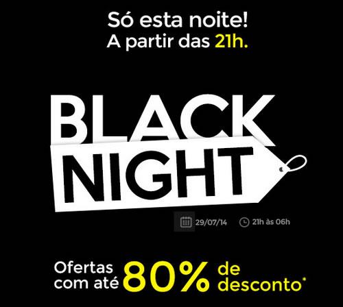 2º Black Night Shoptime.com é hoje, dia 29 de julho