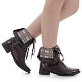Lançamentos de botas na Passarela