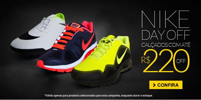 Nike com até R$ 220 de desconto na Dafiti Sports