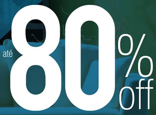 Até 80% de desconto em móveis na Mobly