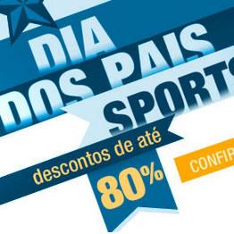 Dia dos Pais com até 80% de desconto na Dafiti Sports