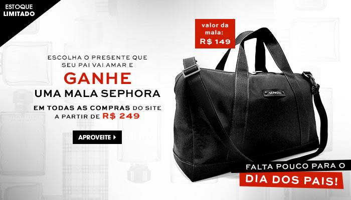 Sephora: Ganhe uma mala nas compras acima de R$ 249