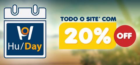 HU Day: 20% em pacotes de viagens no Hotel Urbano