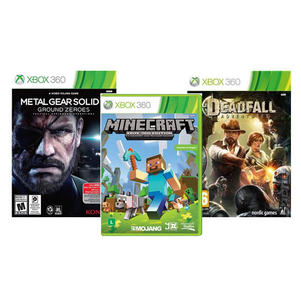 Jogos para Xbox 360 a partir de R$ 24,90 no Ponto Frio