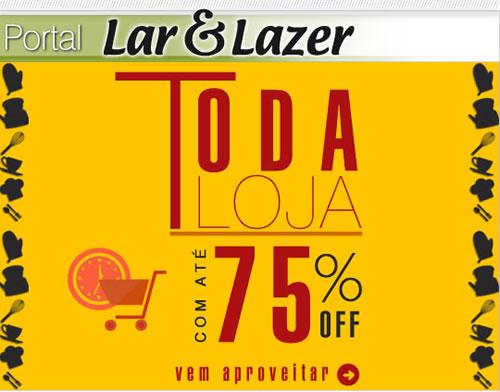Lar e Lazer com até 75% de desconto na Posthaus